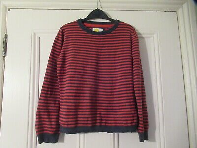 9-10 yrs: Lovely stripey jumper: Cotton/Cashmere: Mini BODEN: Combine postage