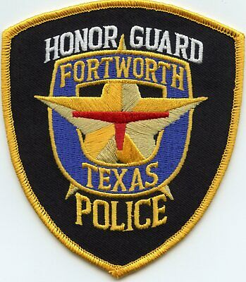 FORT WORTH TEXAS MINISTERS AGAINST CRIME POLICE PATCH