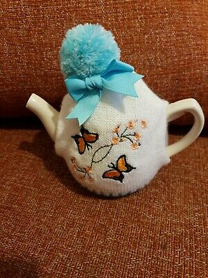 Minature Teapot And Cosy