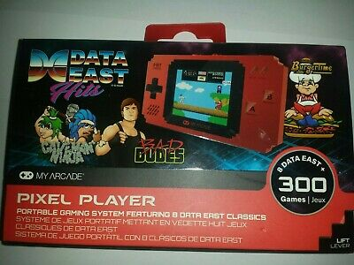 My Arcade Data East Hits Portable Handheld 300 Built In Video Games
