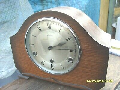 Mantel Clock Striking Westminster  Bentima  Clock Working   See Video