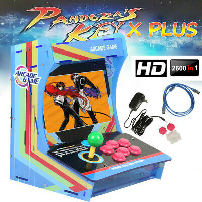 10.4inch 2600 in 1 HD Pandora's Box X PLUS Game Retro Arcade Console HDMI Gift