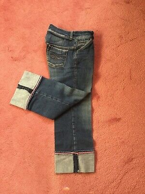 Girls Ted Baker Cropped Jeans Age 12. Excellent Condition.