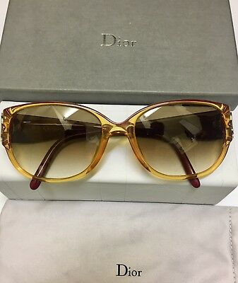 CHRISTIAN DIOR VINTAGE SUNGLASSES 2419 CoI 30 54x17 wi NEW LENSES!! ALMOST NEW!!