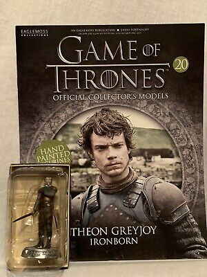 HBO Game Of Thrones Eaglemoss Figurine Collection Issue 20 THEON GREYJOY Figure.