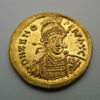 474-491 AD Eastern Roman Empire ZENO Gold Coin AV SOLIDUS Ancient RIC X 910 4.6g
