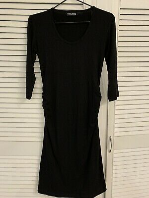 Black maternity dress - Fitted And Stretchy