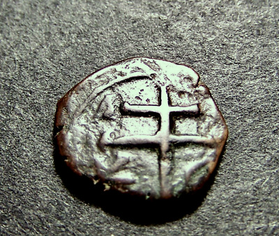ALEXIUS, Patriarchal Christian Cross, Crusades,11-12th Cent. AD, Byzantine Coin