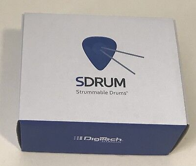 SDrum Strummable Drums - Drum Machine Guitar Effects Pedal.  Open Box,  COMPLETE