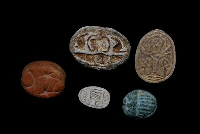 Lot of 5 Scarabs