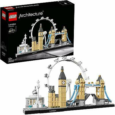 LEGO 21034 Architecture London Skyline Model Building Set, London Eye, Big Ben