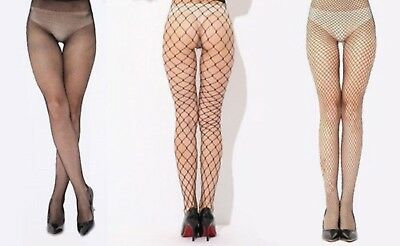 BLACK Extra Large Fishnet Tights all sizes and Plus Size - XL Whalenet Tight
