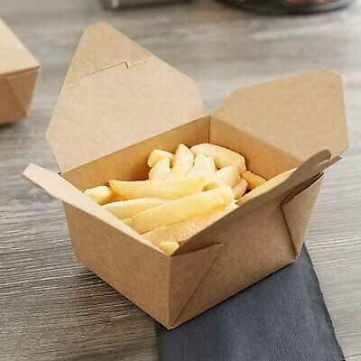 Chinese Takeaway Boxes | Cardboard Food Containers | Biodegradable Leak-Proof