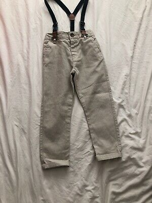 Boys Trousers With Braces Age 2-3