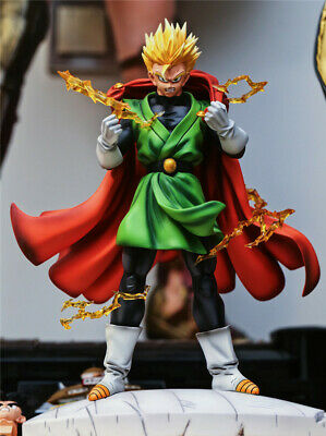 Customized Dragonball Z Son Gohan Display Resin Figure Zukan Limited Collect N