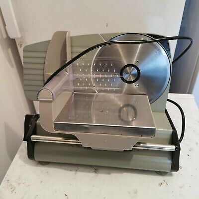 Meat slicer used