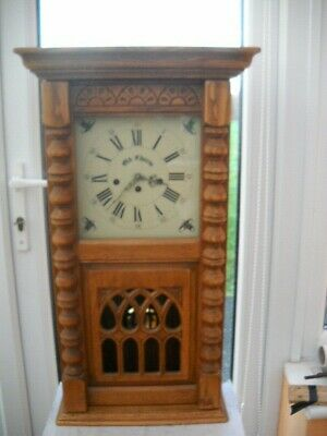 Beautiful Old Charm Westminster Chimes Wall Clock In G.w.o.