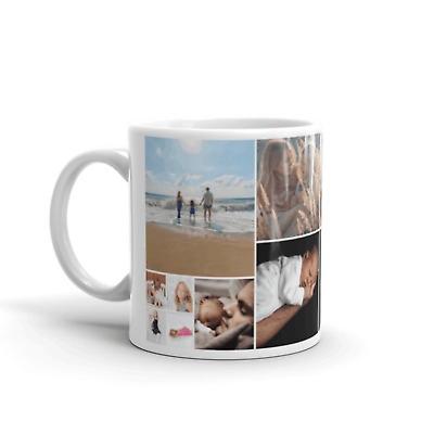 PERSONALISED MUG CUSTOM CUP TEXT PHOTO LOGO DESIGN Valentines Birthday Christmas