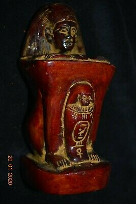 "Sale!! Egyptian Crypt Stone Scribe 5"" Prov"