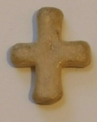 Byzantine Lead Cross for Pilgrims - excellent condition - great patina