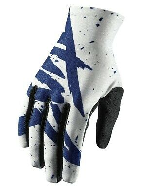 Thor Void Hype Motocross MX Race OffRoad Gloves Blue White Adults Large