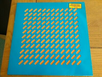 Orchestral Manoeuvres In The Dark self-titled 1980 LP. Ex condition.Blue sleeve