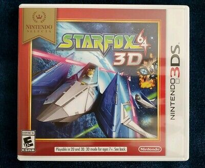 Star Fox 64 3D [Perfect Condition] (Nintendo 3DS, Nintendo Selects)