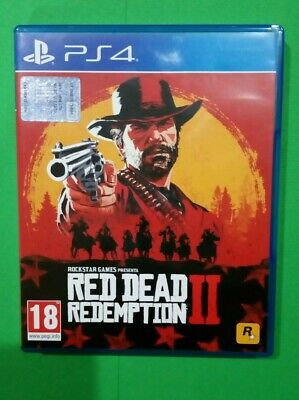 Red dead redemption 2 ps4 COME NUOVO