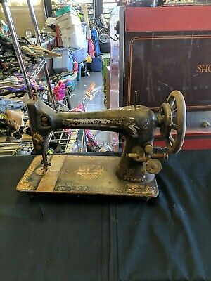 Vintage Singer Sewing Machine As Is