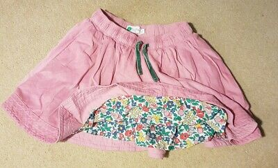 Mini boden cord skirt. Pink. Age 8-9