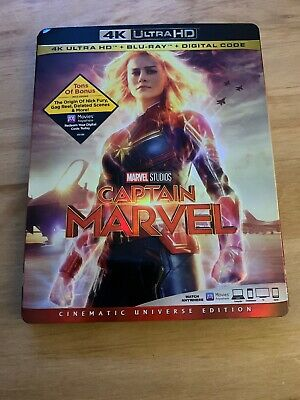 Captain Marvel Disney 4K Ultra HD UHD + Blu-ray