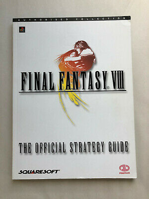 Final Fantasy VIII (8) Official Strategy Guide - Authorised Collection - RARE