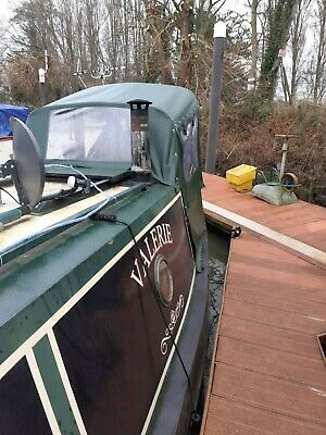 45ft  cruiser stern all steel narrow boat
