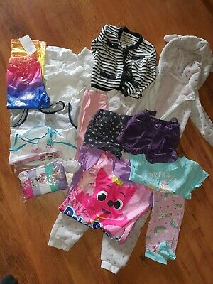 Girls Clothing Bundle Ages 3 Though To 6 New And Used