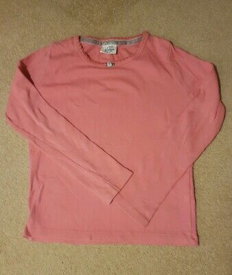 Mini Boden Girls Pink Top Age 6-7 Years
