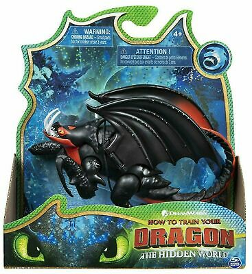 "How To Train Your Dragon The Hidden World Deathgripper 8"" Figure New in Box"