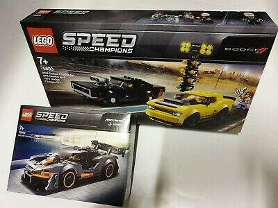 Lego speed champions 75893 2018 dodge challenger 1970 dodge charger 75892 McLare