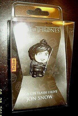 Game Of Thrones Tribe HBO Jon Snow 16 GB USB Flash Drive Mint in unopened box