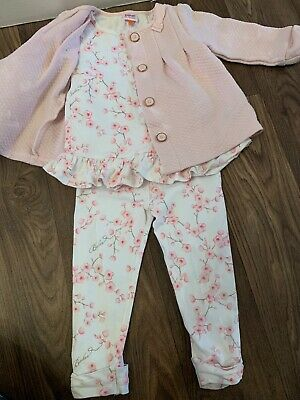 Ted Baker Baby Girls Outfit Set Bloosom Playware 18-24