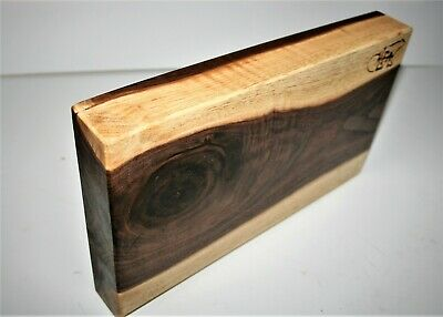 Walnut Charcuterie Two Tone One of Kind Cheese Bread Board-Platter-Serving Tray