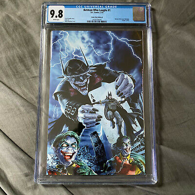 The Batman Who Laughs #1 Mike Mayhew Virgin Variant CGC 9.8 - Batman #251 Homage