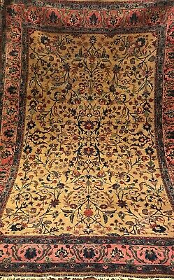 An Authentic Hand Made Antique Trbiz Rug
