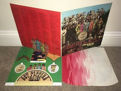 THE BEATLES Sgt Peppers Lonely Hearts Club Band LP 1967 UK 1st Press!