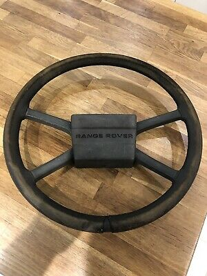 Range Rover Classic Steering Wheel Early, New Leather Rare Land Rover Discovery.