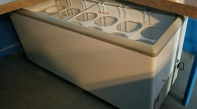 """Excellence Industries HB-20LD 71"""" Stand Alone Ice Cream Dipping Cabinet Freezer"""