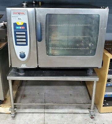 Rational SCC 62G Combi Self Cooking Center GAS Convection Oven Steamer