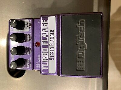DigiTech Turbo Flange X-Series Stereo Flanger Guitar Effect Pedal