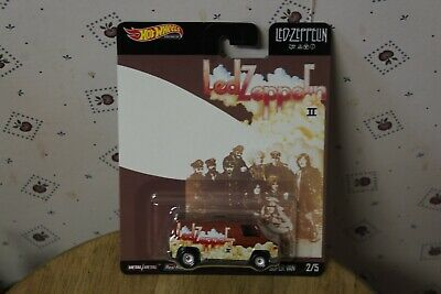 Hot Wheels 2020 Pop Culture Led Zeppelin Super Van #2/5 Hw