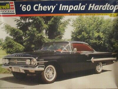 Revell 4248 1:25th scale 1960 Chevy Impala Hardtop 2n1