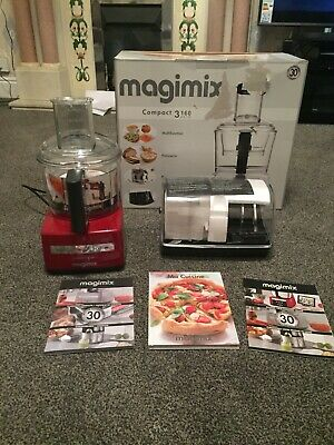 Magimix Compact Red C3160 Auto Food Processor Brand New Rrp £229.99+